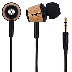 AWEI Q9 Øreplugger (i øret)ForMedie Avspiller/Tablett Mobiltelefon ComputerWithLyd-avbrytende