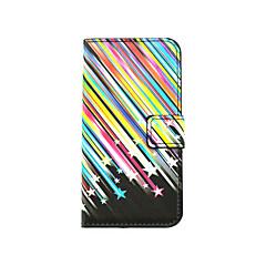 tanie Etui / Pokrowce do LG-Na Etui do LG Etui na karty / Z podpórką / Z okienkiem / Flip / Wzór Kılıf Futerał Kılıf Linie / fale Twarde Skóra PU LG LG K10 / LG K8