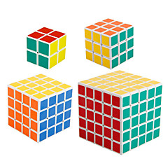 Rubikin kuutio Tasainen nopeus Cube 2*2*2 4*4*4 5*5*5 Nopeus Professional Level Rubikin kuutio Uusi vuosi Joulu Lasten päivä Lahja