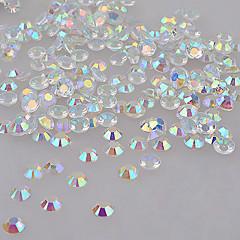 voordelige -Kunstdiamanten-ABS-1000PCS- stuks4mm- (cm)