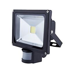 billige Udendørsbelysning-20W PIR Medført Projektør Lys Bevægelsessensor Haven Lys (Ac85-265V)