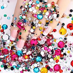 voordelige -2000pcs Nail Art Decoration Rhinestone Pearls make-up Cosmetische Nail Art Design