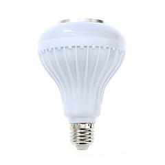 abordables Ampoules LED-1 pcs e27 led rgb couleur ampoule lumière bluetooth contrôle smart musique audio haut-parleur lampes (ac85-265v)