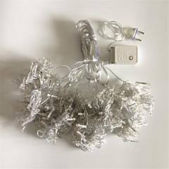 お買い得  LED ストリングライト-COSMOSLIGHT 300 LED 温白色 RGB ホワイト 防水 変色 AC220 AC 220V