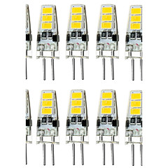 1.5W G4 2-pins LED-lampen T 6 SMD 5733 150-200 lm Warm wit Koel wit 3000/6000 K Waterbestendig Decoratief DC 12 V