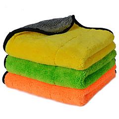abordables Herramientas de Limpieza-autoyouth super gruesa felpa paños de limpieza de coches de microfibra cuidado del automóvil microfibra pulir cera detallando toallas 3