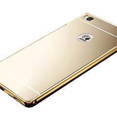 お買い得  Huawei Pシリーズケース/ カバー-ケース 用途 Huawei社の名誉4X / Huawei社の名誉7 / Huawei社は、5Sをお楽しみください Huaweiケース メッキ仕上げ / ミラー バックカバー ソリッド ハード アクリル のために Huawei P8 Lite / Huawei P8 / Huawei Honor 7