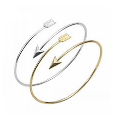 Cuff Bangles Bracelets Gold Bracelet Silver Bracelet Love Bracelet Fashion Jewelry Bestfriend Christmas Gift Adjustable 1 pc