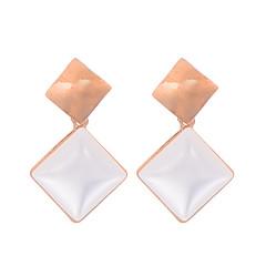 preiswerte Ohrringe-Damen Opal Synthetischer Opal Ohrring - vergoldet, Opal Retro, Modisch Gold Für Hochzeit Party