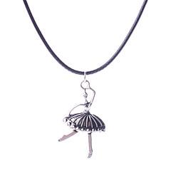Муж. Жен. Женский Ожерелья с подвесками Кожа Сплав Сексуальные платья Мода европейский Бижутерия Назначение Свадьба Для вечеринок