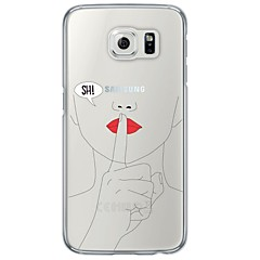 For Samsung Galaxy S7 Edge Ultratyndt / Gennemsigtig Etui Bagcover Etui Other Blødt TPU SamsungS7 edge / S7 / S6 edge plus / S6 edge / S6