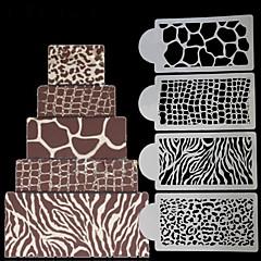 1 Leivonta kakku koristelu Kakku Muovi Koristelutarvikkeet