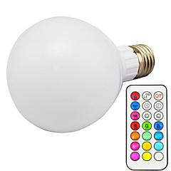 お買い得  LED 電球-10W 3000lm E26 / E27 LEDスマート電球 G95 1 LEDビーズ 集積LED 調光可能 リモコン操作 RGB 85-265V