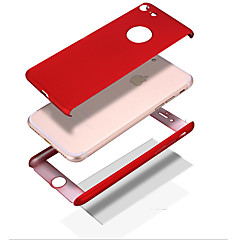 Para iPhone 8 iPhone 8 Plus Carcasa Funda Antigolpes Other Cuerpo Entero Funda Color sólido Dura Policarbonato para Apple iPhone 8 Plus