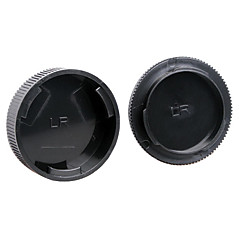 dengpin hintere Objektivabdeckung + Kameragehäuse Kappe für leica r3 r4 r5 r6 R 7 R 8 R 9