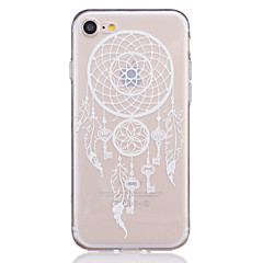 お買い得  iPhone 5S/SE ケース-ケース 用途 Apple iPhone 7 / iPhone 7 Plus / iPhone 6 クリア / エンボス加工 / パターン バックカバー ドリームキャッチャー ソフト TPU のために iPhone 7 Plus / iPhone 7 / iPhone 6s Plus