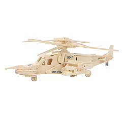 Puzzles 3D - Puzzle Holzpuzzle Bausteine Spielzeug zum Selbermachen Helikopter Holz