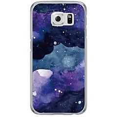 Voor samsung galaxy s7 s7 rand tegel patroon zacht ultra-dun tpu achterkant s4 s5 s6 s6 rand s6 rand plus