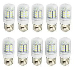 preiswerte LED-Birnen-10 Stück 2W 280-350lm E26 / E27 LED Mais-Birnen T 27 LED-Perlen SMD 5730 Dekorativ Warmes Weiß Kühles Weiß 9-30V 85-265V