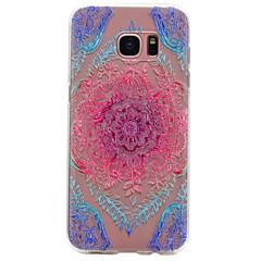 Voor Samsung Galaxy S8 Plus s6 kleur kantpatroon tpu hoge zuiverheid doorschijnend zacht telefoon hoesje s7 s6 rand s5 s4 s3 s8