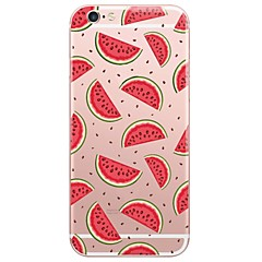 tanie Etui do iPhone 6s-Kılıf Na Apple iPhone X iPhone 8 Etui iPhone 5 iPhone 6 iPhone 7 Ultra cienkie Półprzezroczyste Czarne etui Rysunek Miękkie TPU na iPhone