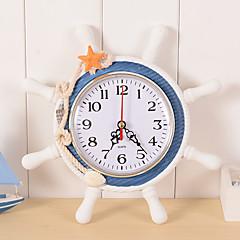 preiswerte Uhren-Uhr Wecker Antike Freizeit Traditionell Büro / Geschäftlich Retro Modern / Zeitgenössisch Holz Kunststoff Kreisförmig