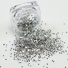 voordelige -1bottle Nail Art Decoration Rhinestone Pearls make-up Cosmetische Nail Art Design