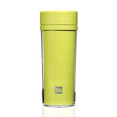 1 db Bögre / csésze Tartós Hordozható mert Ivóeszközök és evőeszközök utazásokra Műanyag-Fehér Fekete Zöld