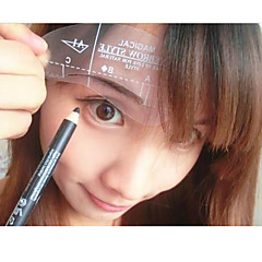 billige øjenbryn stencil-24 Stk. Øjenbrynsblyant Silikone Andre