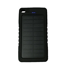 Ismartdigi MPSB-12000 8000mAh Solar Recharger Power Bank with Flashlight for Cell Phone