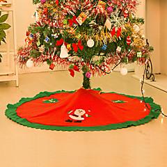 저렴한 -홈 스트레이트 에지 90cm 부직포 크리스마스 트리 스커트 앞치마에 대한 decoracion 스 Navidad 크리스마스 장식