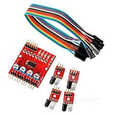 hesapli -fabrika OEM Arduino Dla Arduino Płyta Ruch