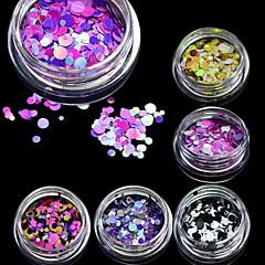 1bottle Nail Art dekoráció strasszos gyöngy smink Kozmetika Nail Art Design
