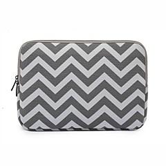preiswerte Tablet-Hüllen-14.1 15.4 Zoll Zebramuster Laptop-Tasche Notebook-intelligente Abdeckung für macbook / dell / hp / Sony / Oberfläche / ausa / acer /
