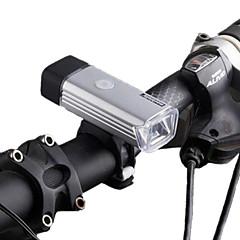 Luces para bicicleta LED LED Ciclismo Recargable Impermeable Regulable Batería de Litio Con 70 LUX Lumens USB Blanco Natural