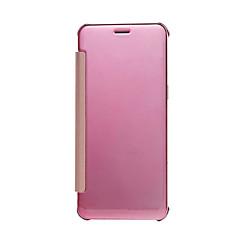 Недорогие Чехлы и кейсы для Xiaomi-Кейс для Назначение Xiaomi Покрытие / Флип Чехол Однотонный Твердый Кожа PU для Xiaomi Redmi Note 3 / Xiaomi Redmi Note 2 / Xiaomi Mi 5