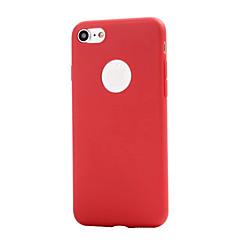 お買い得  iPhone 5S/SE ケース-ケース 用途 Apple iPhone XS / iPhone XR / iPhone 7 つや消し バックカバー ソリッド ソフト TPU のために iPhone XS / iPhone XR / iPhone XS Max