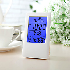 1PC Electronic Thermometer Hygrometer Indoor Multi-Function Electronic Temperature Hygrometer Backlit Calendar