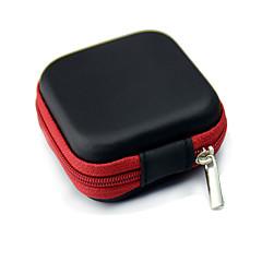 περίπτωση τσάντα αποθήκευσης για ακουστικά ακουστικά καλώδιο δοχείο περίπτωση ακουστικά κουτί αποθήκευσης τσάντα θήκη κάτ