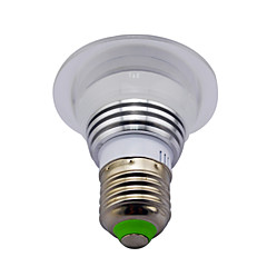 abordables Bombillas LED-3W E14 GU10 B22 E26/E27 Bombillas LED Inteligentes MR16 1 LED de Alta Potencia 130 lm RGB / K Sensor de infrarrojos Regulable Control
