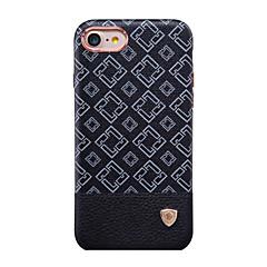 Назначение iPhone 7 iPhone 7 Plus Чехлы панели Защита от удара Матовое Задняя крышка Кейс для Сплошной цвет Твердый PC для Apple iPhone 8
