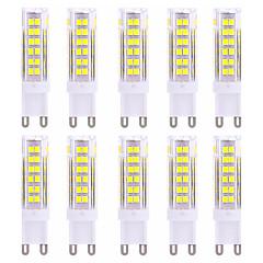 preiswerte LED-Birnen-G9 LED Doppel-Pin Leuchten T 75 SMD 2835 600-800 lm Warmes Weiß Kühles Weiß 2800-3200/6000-6500 K Dekorativ AC 220-240 V