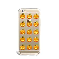 Недорогие Кейсы для iPhone 7 Plus-Назначение Кейс для iPhone 7 Кейс для iPhone 7 Plus Кейс для iPhone 6 Чехлы панели Ультратонкий С узором Задняя крышка Кейс для Фрукты