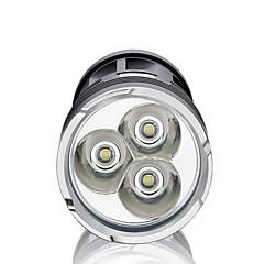 LED taskulamput LED 3000 lm 3 Tila LED Vedenkestävä High Power Himmennettävissä Erityiskevyet Telttailu/Retkely/Luolailu