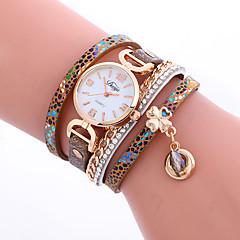preiswerte Damenuhren-Damen Modeuhr / Armband-Uhr / Armbanduhr Cool / Mehrfarbig PU Band Charme / Glanz / Retro Mehrfarbig