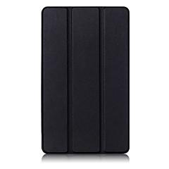 お買い得  タブレット用ケース-ケース 用途 Huawei フルボディーケース / タブレットケース ソリッド ハード PUレザー のために