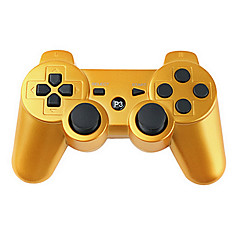 cheap PS3 Controllers-Wireless Controller for PS3 (Gold)