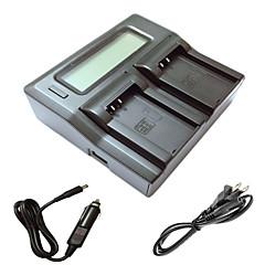ismartdigi EL20 lcd double chargeur avec câble de charge de voiture pour nikon en-EL20 j1 j2 j3 un AW1 s1 batterys de caméra