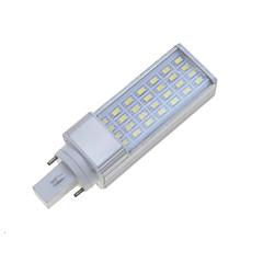 preiswerte LED-Birnen-SENCART 7W 550-600lm G24 / E26 / E27 LED Doppel-Pin Leuchten Drehbae 28 LED-Perlen SMD 5630 Abblendbar / Dekorativ Warmes Weiß / Kühles