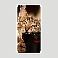 Для С узором Кейс для Задняя крышка Кейс для Кот Твердый PC Apple iPhone 7 Plus / iPhone 7 / iPhone 6s Plus/6 Plus / iPhone 6s/6